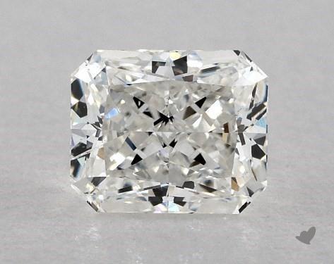 0.70 Carat F-SI2 Radiant Cut Diamond