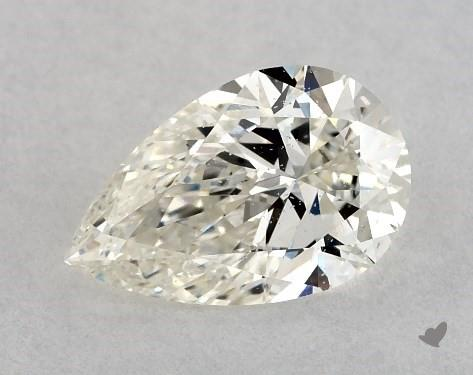 0.75 Carat I-SI2 Pear Shape Diamond