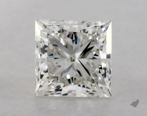 0.70 Carat I-SI1 Ideal Cut Princess Diamond