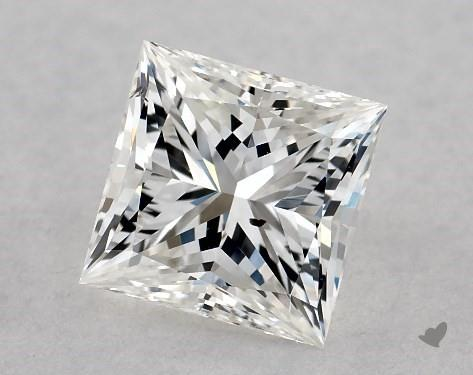 1.00 Carat G-SI1 Ideal Cut Princess Diamond