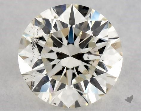 0.70 Carat K-SI2 Excellent Cut Round Diamond