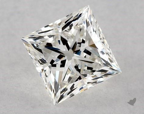 0.72 Carat H-VS2 Ideal Cut Princess Diamond