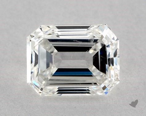 1.00 Carat G-SI1 Emerald Cut Diamond