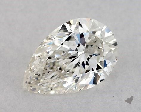 0.75 Carat I-SI2 Pear Shape Diamond
