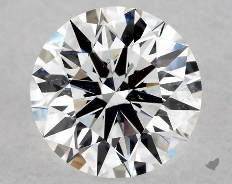 1.00 Carat E-SI1 Excellent Cut Round Diamond