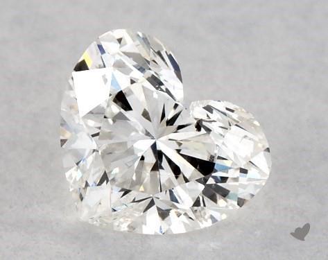 <b>0.30</b> Carat F-SI2 Heart Cut Diamond
