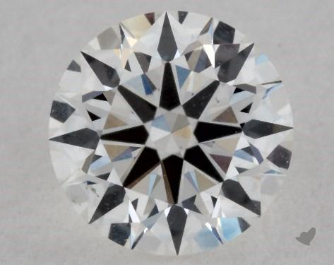 0.51 Carat G-VS2 Excellent Cut Round Diamond