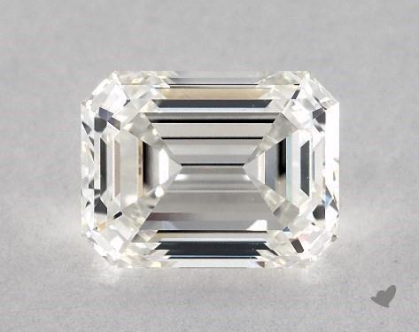 1.52 Carat H-VS1 Emerald Cut Diamond