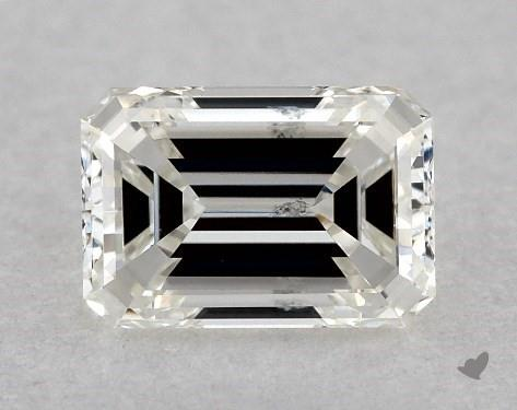 0.41 Carat H-SI2 Emerald Cut Diamond