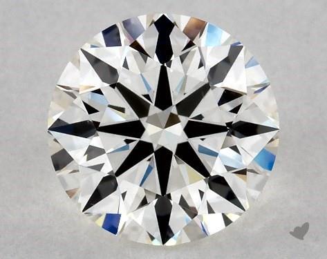 2.01 Carat H-VS1 Excellent Cut Round Diamond