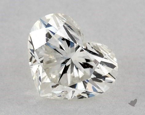 0.71 Carat I-SI2 Heart Shape Diamond