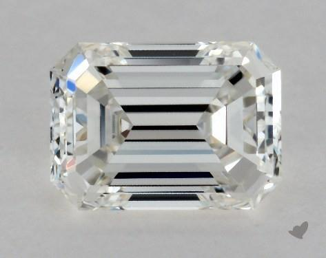 0.42 Carat G-VS1 Emerald Cut Diamond