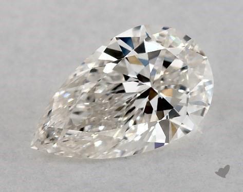 0.70 Carat H-VS1 Pear Shape Diamond