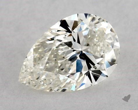 0.73 Carat J-VVS1 Pear Shape Diamond