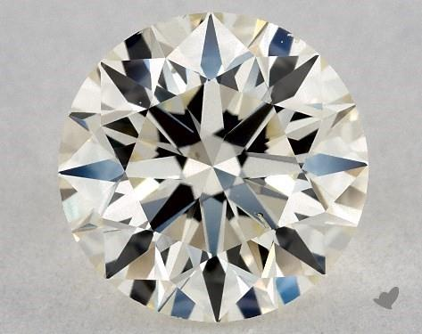 0.74 Carat M-SI1 Excellent Cut Round Diamond